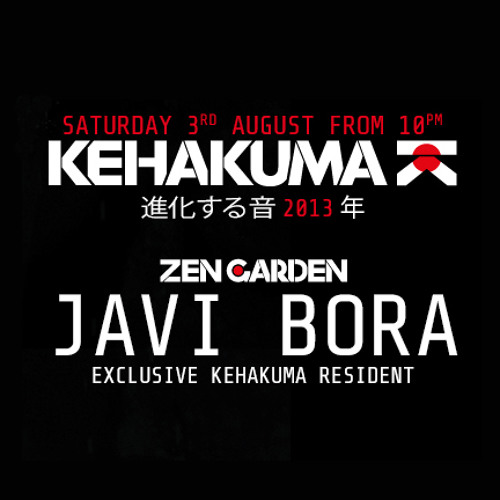 Javi Bora @ Kehakuma at Space Ibiza (03.08.2013)