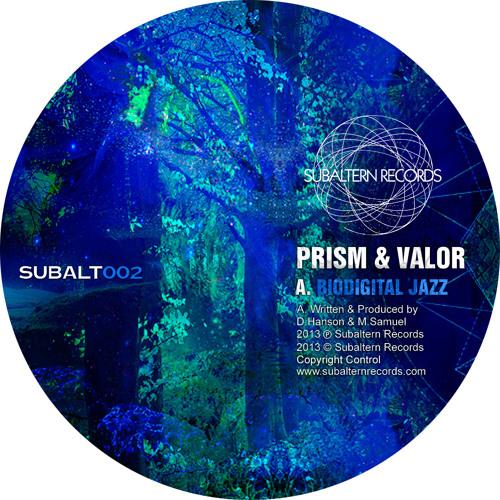 SUBALT002 - Prism & Valor - Biodigital Jazz - OUT NOW