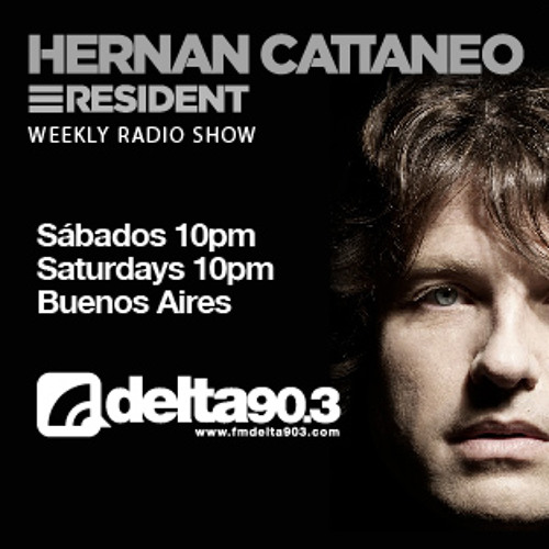 Delta Podcasts- Resident Hernan Cattaneo (10/8/2013)