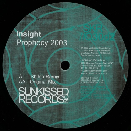 Insight - Prophecy (Shiloh Remix) [FREE DOWNLOAD]