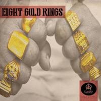 8 GOLD RINGS