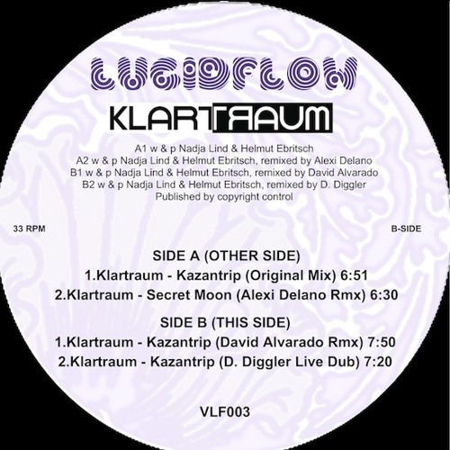 VLF003 - Klartraum - Kazantrip (David Alvarado Rmx) Secret Moon Wax Edition [sample 2.5min]