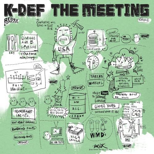 K-DEF (@DJKDEF) feat. BLU(@herfavcolor) - THE MEETING