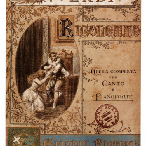 Verdi, Questa o quella from Rigoletto (with piano)