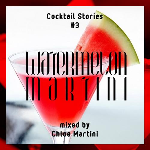 WATERMELON MARTINI mixed by Chloe Martini