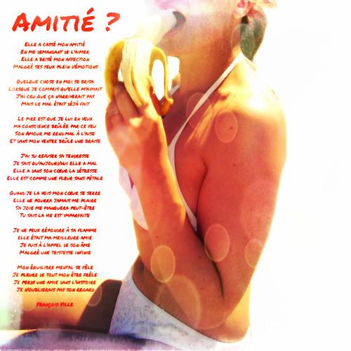 (Instru)AMITIE ? (L'Amitié Homme/Femme est-elle possible ?) Ballade Rock par Francois Ville