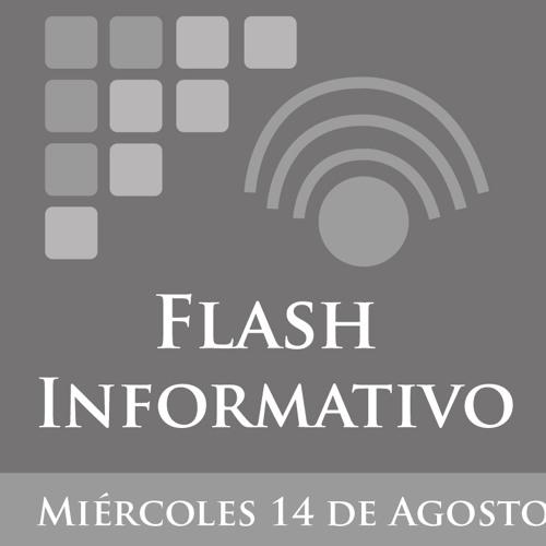Flash Informativo del 14 de Agosto de 2013 Primer Corte