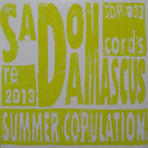 SadoDaMascus Records: Summer Copulation 2013 (SDM-003)