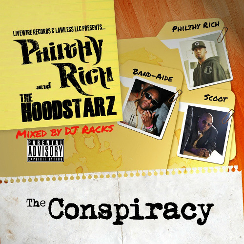 Philthy Rich Ft. The Hoodstarz & Lil' Blood - Fonk On Site Prod. By Scott Tha Foo