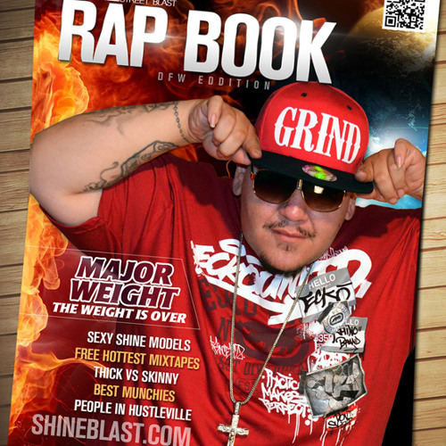 Shine Rap Book Mag Commercial