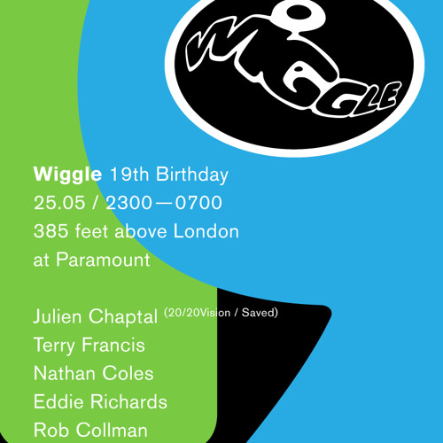 Nathan Coles & Terry Francis Back 2 Back @ Wiggle's 19th Birthday 25th May 2013