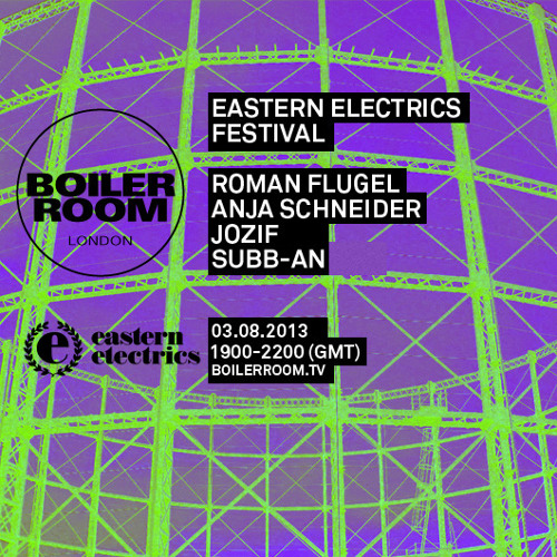 Subb-an 40 min Boiler Room x Eastern Electrics Festival mix