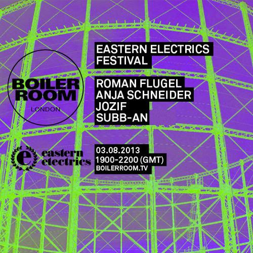 Roman Flugel 45 min Boiler Room x Eastern Electrics Festival mix