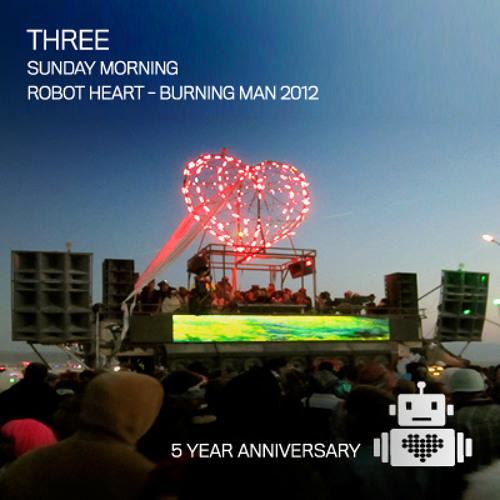 Three - Robot Heart - Burning Man 2012