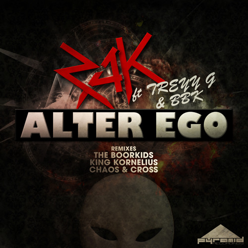 Z.A.K Ft Treyy G & BBk - Alter Ego (Chaos & Cross Remix) OUT NOW ON BEATPORT!!