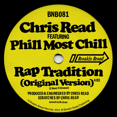 Chris Read feat Phill Most Chill - Rap Tradition