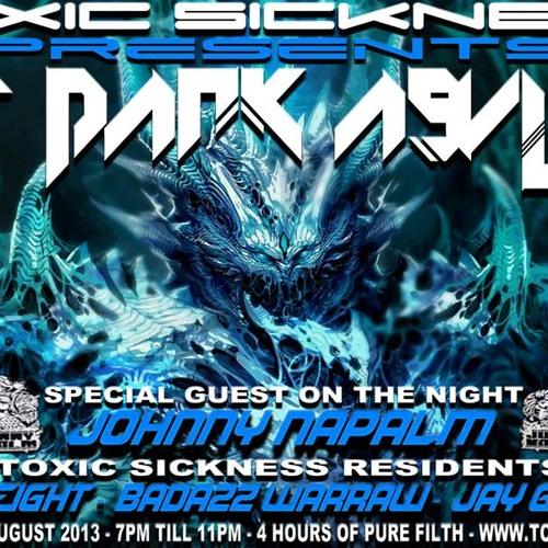 JAY GABBER T @ TOXIC SICKNESS RADIO -THE DARK ASYLUM IIX | 15.08.13