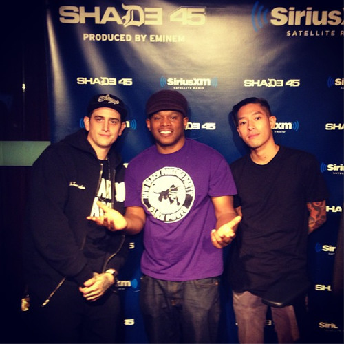 "Live on Shade45 XM ""Sway In The Morning"" 8/15/13"