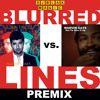 DJ BLAK MAGIC Premix of Blurred LInes by Robin Thicke and Got To Give It Up by Marvin Gaye