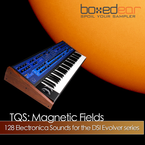 TQS: Magnetic Fields for Evolver preset - SubSaw Bass
