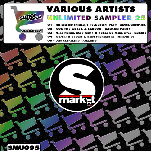 The Electro Animals & Pola Green - Party (Manna-Croup remix)\ SUPERMARKET REC. (SPAIN)