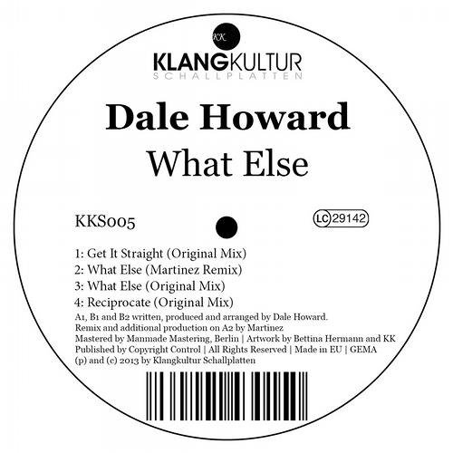What Else EP [Klangkultur] (VINYL + DIGITAL) OUT NOW!