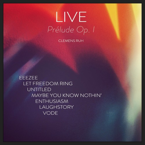 LIVE - Prélude Op. I