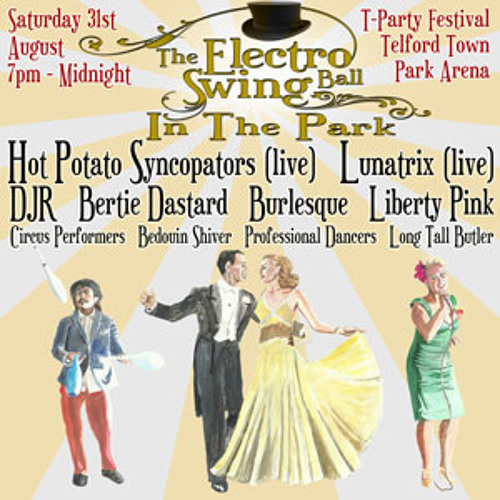 Electro Swing Ball In The Park - Radio Shropshire Interview
