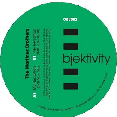 OBJ002-1 My Rendition (The Martinez Brothers Main Mix)