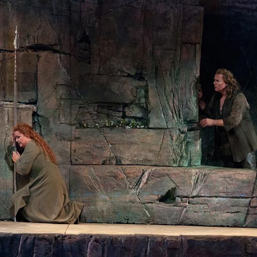 ALWYN MELLOR as SIEGFRIED Brünnhilde