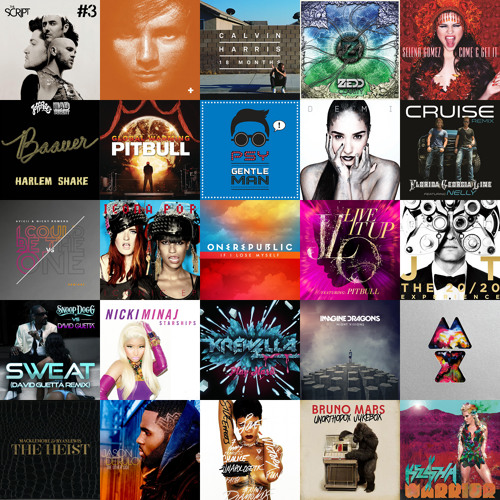 2013 Mid-year Pop Mashup (25+ Songs in 5 minutes)