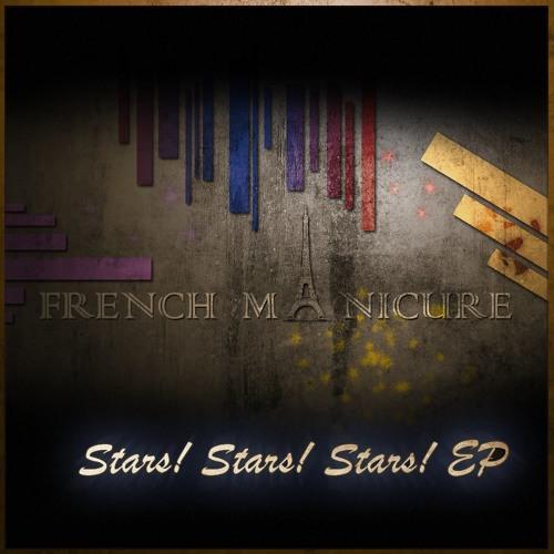 FRENCH MANICURE - Stars! Stars! Stars!