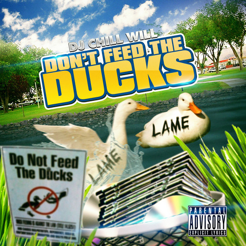 DONT FEED THE DUCKS