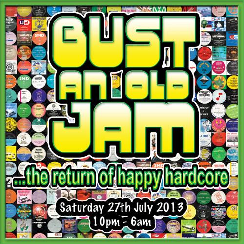 Thumpa & MC Frikshon @ Bust An Old Jam 27.07.13 (Classic UK/Dutch Happy Hardcore)