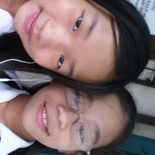 Buko:) With Angel at School