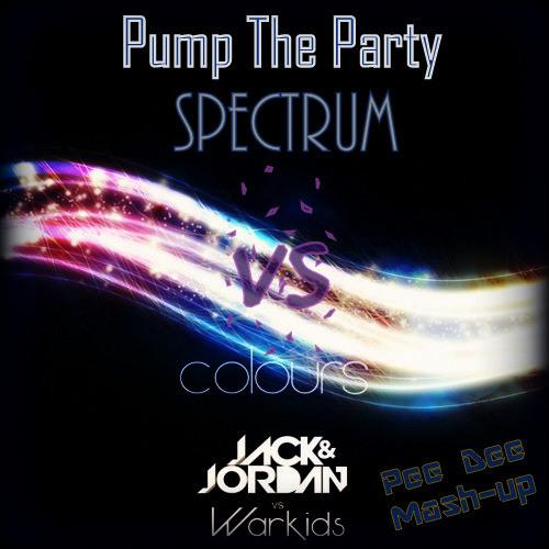 Colours Vs Spectrum Vs Pump The Party (Pee Dee Mashup)
