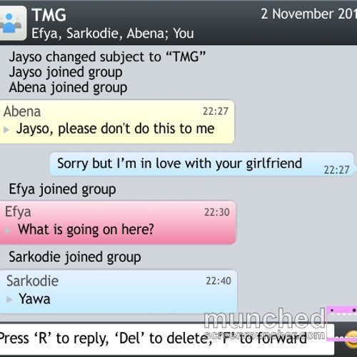 Jayso & Sarkodie ft. Efya - I'm In Love With Your Girlfriend (Prod By Jayso) [TMG]