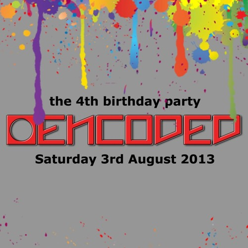 Adam M Recorded Live At Encoded 4th Birthday @ Hidden In London - Closing Set!