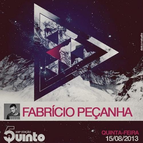 Fabricio Peçanha live at 5uinto BSB - 15.08.2013