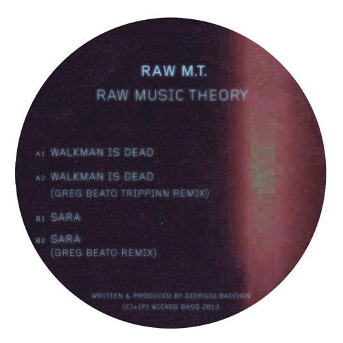 """Raw M.T. - Raw Music Theory EP w/ Greg Beato remixes (12"""")"""