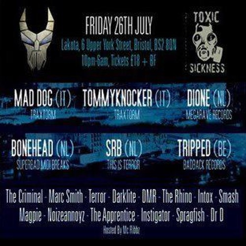 INSTIGATOR B2B THE APPRENTICE - LIVE @ SECTION 18 & TOXIC SICKNESS PRES DEATHLAB 2 @ LAKOTA