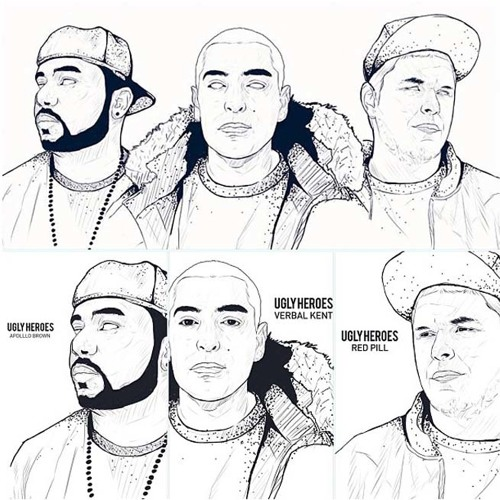 Ugly Heroes - Me (Apollo Brown, Verbal Kent, Red Pill)