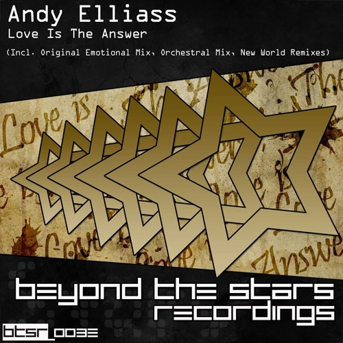 Andy Elliass - Love Is The Answer (New World Remix) Played by Aly & Fila on FSOE 302/303 FutureSound
