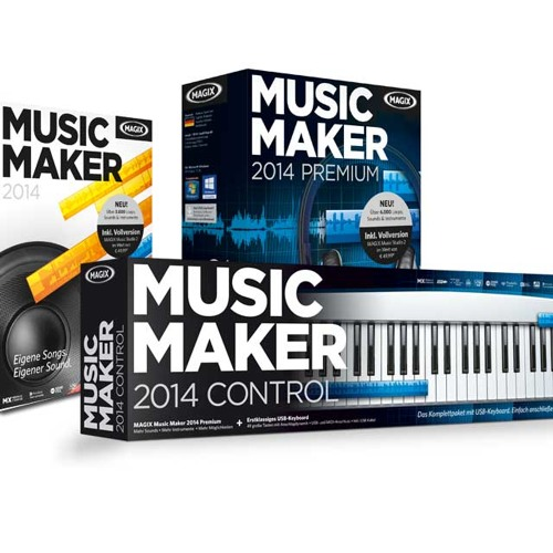 Music maker 2014 demo 39 deep house 39 by magix official for House music maker