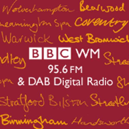 Peter Reynolds BBC Radio WM 20th August 2013