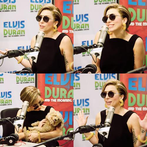 Gaga on Z100. August 20th, 2013
