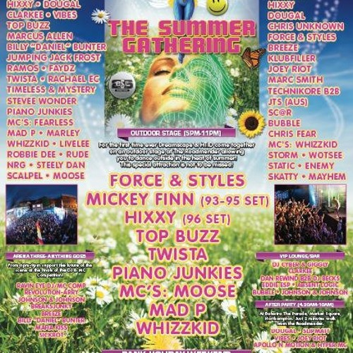 DJs TIMELESS & MYSTERY-DREAMSCAPE THE SUMMER GATHERING -DRUM & BASS (2000-1) N FX- PROMO MIX PART 2
