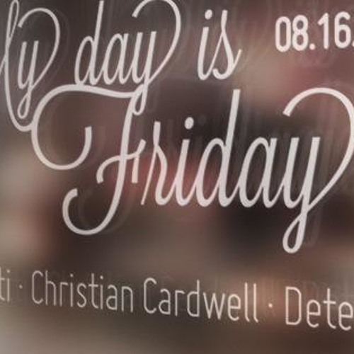 Christian Cardwell Live at My Day Is Friday URIMURI 17-08-2013