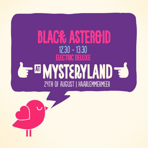 Black Asteroid's 22 Tracks For Mysteryland
