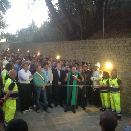 """Inaugurazione Parco naturale """"La Foresta"""" - Sindaco Antonio Marra, 28 luglio 2013"""